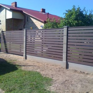 Wooden fence panels and Fence boards